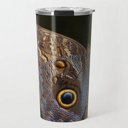 Owl butterfly in Costa Rica - Tropical moth Travel Mug