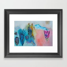 Eternal Calm - Caves and Crystals Framed Art Print
