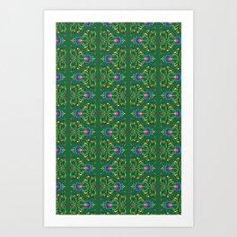 Zielony Art Print