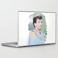 louis tomlinson Laptop & iPad Skins featuring PRINCE LOUIS TOMLINSON by Flambino Gambino