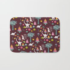 Jellosaurus Rex: Jello Dino Party Bath Mat