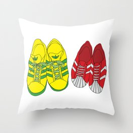 Shoe Love Throw Pillow