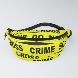 Crime Scene Tape Fanny Pack