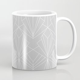 Art Deco on Grey Coffee Mug