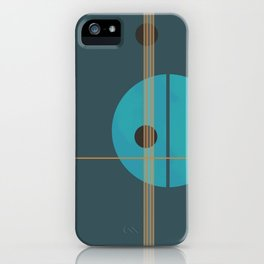 Geometric Abstract Art #4 iPhone Case
