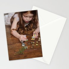 a miniature teaparty Stationery Cards