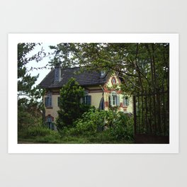 OLD VILLA Art Print