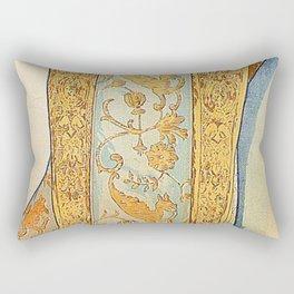 Art Nouveau poster by Alphonse Mucha Rectangular Pillow