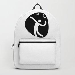 Badminton Symbol Backpack