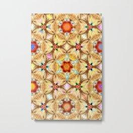 kaleidoscope - releitura de um jardim Metal Print