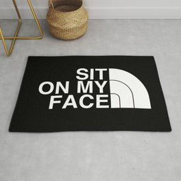 Sit On My Face Rug