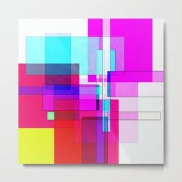 Squares combined no. 5 Metal Print