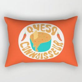 Queso Connoisseur Rectangular Pillow