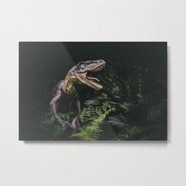 Utahraptor Metal Print