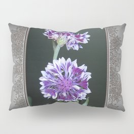 Bachelor Button from the Frosted Queen Mix Pillow Sham