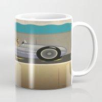 scuba Mugs featuring Scuba Driver by Chris Cooch