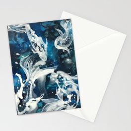 School of Celestial Guardians Stationery Cards