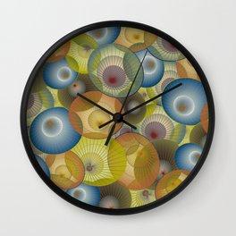 parasols Wall Clock