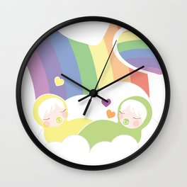 Hope at the end - Commissioned Work Wall Clock