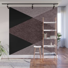 Black and brown marble Wall Mural