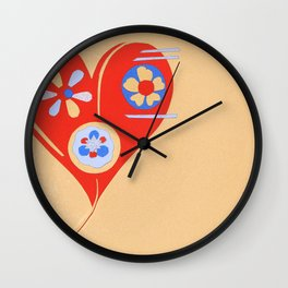 For The Love Of ... Wall Clock
