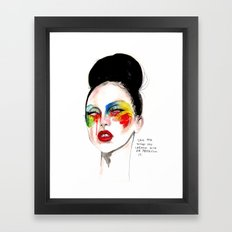 Applause Ga ga Framed Art Print