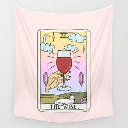 WINE READING Wall Tapestry