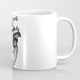 Hearts and Crafts Black Coffee Mug