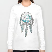 dream catcher Long Sleeve T-shirts featuring Dream Catcher by Huebucket