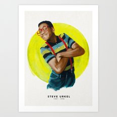 Steve Urkel Art Print