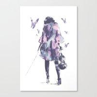 entourage Canvas Prints featuring Entourage  by Galen Valle