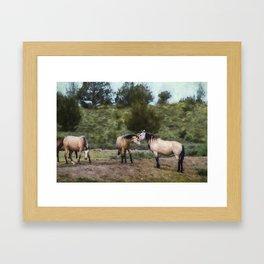 The Duns Framed Art Print
