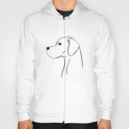 English Pointer (Black and White) Hoody