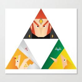 The Legend of Zelda - Fragments of power Canvas Print
