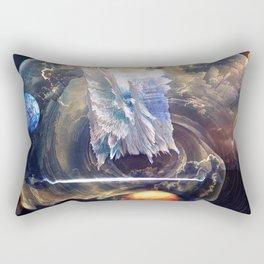 Force Fields Rectangular Pillow