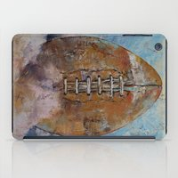football iPad Cases featuring Football by Michael Creese