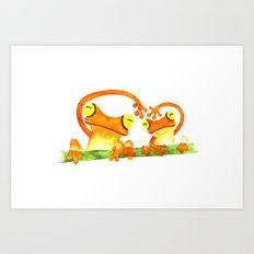 We Heart Art Print