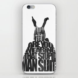 Frank the Rabbit - Donnie Darko iPhone Skin