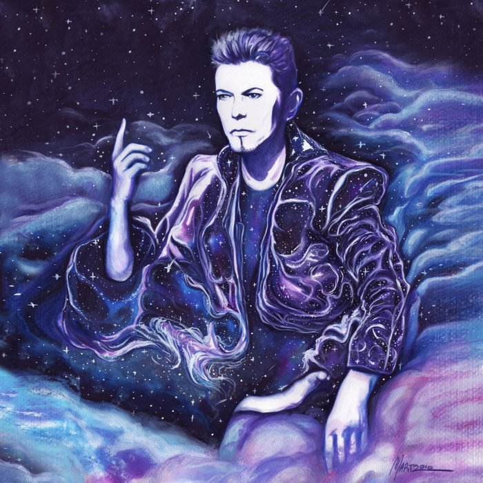 Bowie - Back to the Stars Comforters