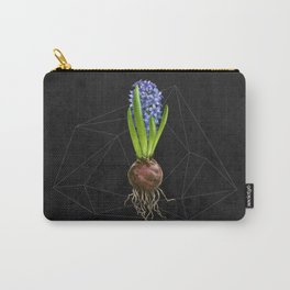 Blue Hyacinth Hydroponics (tryptic 1/3) Carry-All Pouch
