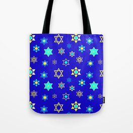 Hanukkah Holidays Celebration of Miracles Pattern Tote Bag