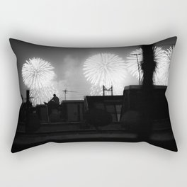 About Last Night Rectangular Pillow
