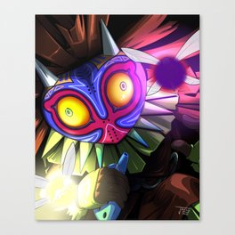 Skullmin with Faeries Canvas Print