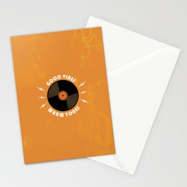 Good Vibes and Warm Tones Stationery Cards