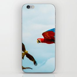 Parrots iPhone Skin