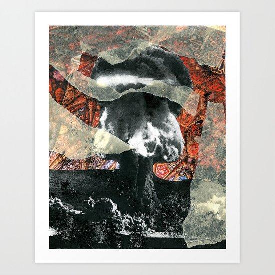 Explosion  Art Print