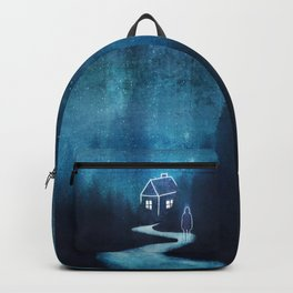 Alone In A Ghost Town Backpack