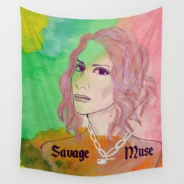SAVAGE MUSE: LEILA Wall Tapestry
