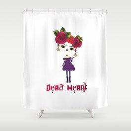Dead Heart Shower Curtain
