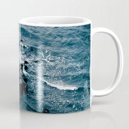 Coastal - Shore off Liberty Island in New York Coffee Mug